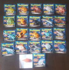 DeAgostini SeaMonsters & Co.  21 verschiedene SeaMonster zum  aussuchen