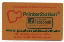 Metal Business Card Printing (Gold, Front only), free design