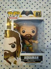 Funko pop: Aquaman , batman vs Superman pop movie! (87 - Used)