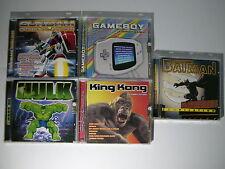 5 CD OFFERTA Gundam Hulk Gameboy King Kong Batman NEW NUOVI SIGILLATI Musicali