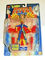 1997 MARVEL X-MEN MISSILE FLYERS FUTURE SHARD ACTION FIGURE TOY BIZ! WINGPACK!