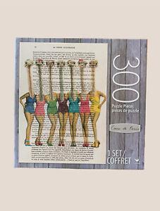 Coco De Paris Ostrich Bathing Suits 300 Piece Puzzle La Petite Illustration #A17