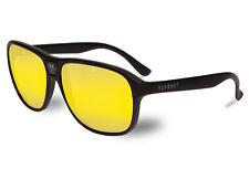 Vuarnet Sunglasses VL000300118184 VL0003 '03' Matt Black & 'Nightlynx' Lenses