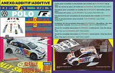ANEXO DECAL 1/43 VOLKSWAGEN POLO R WRC A.MIKKELSEN SWEDEN R. 2014 2nd (06)