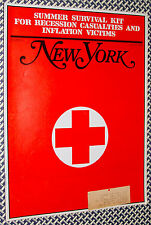 1970 New York Magazine, NYC SURVIVAL KIT, Recession Guide, Bargains, Squatters