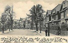POSTCARD  LONDON  - MUSWELL HILL  - PRINCES AVENUE - CIRCA 1908