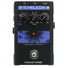 TC Helicon Voicetone H1 Intelligent Harmony Vocal Processor Effects Pedal New!