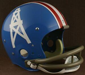 HOUSTON OILERS 1964-1965 NFL Riddell TK Suspension Football Helmet