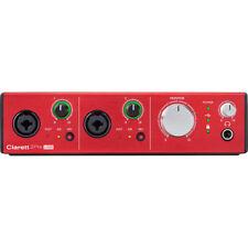 OPEN BOX - FOCUSRITE CLARETT 2PRE USB - AUDIO RECORDING INTERFACE Authorized DLR