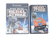 Star Wars Rebel Strike: Rogue Escuadrón 3-Nintendo Gamecube Juego Y Estuche PAL Reino Unido