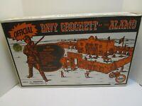 MARX DAVEY CROCKETT AT THE ALAMO 160th ANNIVERSARY PLAYSET ***FACTORY SEALED***(