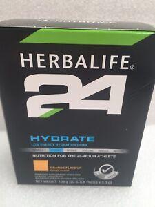 Herbalife 24 Hydrate, 20 Sachets In Box Orange X1.