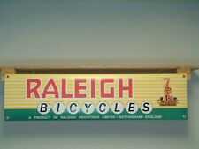 Raleigh Bicycles Banner Vintage Cycle Retro look Workshop Classic Advertising