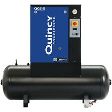 2021 Quincy Qgs 5 Rotary Screw Air Compressor 5 Hp With 60 Gallon Tank