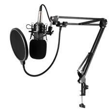 Condenser Microphone Kit Audio Music Recording Sound Studio Mic for PC Laptop