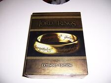 15 Disc Set Lord of The Rings Motion Picture Trilogy Blu Ray Extended Edition