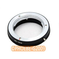 Minolta MD MC Lens to CANON EOS Mount Adapter No Glass
