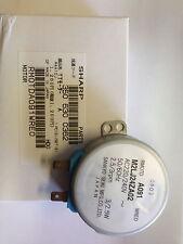 SHARP MICROWAVE OVEN TURNTABLE MOTOR RMOTDA091WRE0 M2LJ24ZA02 MWM91 R4E11