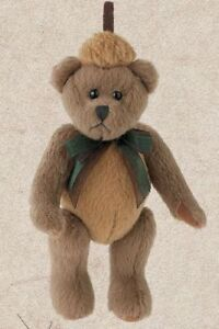 """Bearington Plush Ornaments #3698 I.B. NUTTY, NEW w/ Tag From Retail Store 4.5"""""""