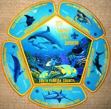 2013 BOY Scout Jamboree SOUTH FLORIDA COUNCIL 265 OA 6-PATCH Set Wyland ARTWORK