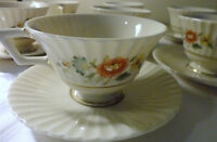 TEMPLE BLOSSOM by LENOX CHINA ONE TEA COFFEE CUP AND SAUCER