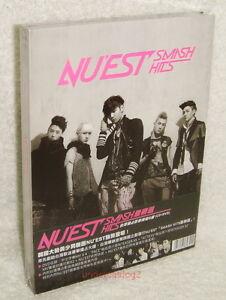 NU'EST SMASH HITS Taiwan Ltd CD+DVD+Card (Mini Album Action & Face)