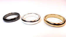 MENS' SET OF 3 RINGS-gunmetal/gold/silver-COOL/HIP/SLICK/CLASS/CHIC/TRENDY (A16)