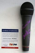 JACKIE EVANCHO Signed Sony Microphone Special Inscrip Auto PSA/DNA COA Autograph