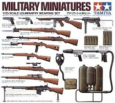 Tamiya 1/35 armas de la segunda guerra mundial nos infantería Set # 35121