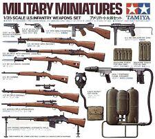 Tamiya 1/35 WWII US Infantry Weapons set # 35121