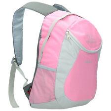 HIGHLANDER BACKPACK DUBLIN Hiking Bag Camping School Bicycle Pink