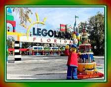 Florida - LEGOLAND - Travel Souvenir Flexible Fridge Magnet