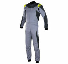 Trajes y monos de karting y racing color principal amarillo