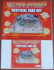 Fairground Vertical Takeoff Ride Model Card Kit on PDF Disc + A4 Card