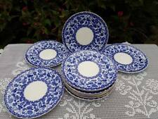 "11 x Antique Royal Crown Derby ""Walmot"" Salad plates 8.0"" c.1883"
