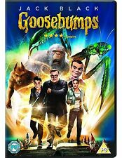 Goosebumps 2016 DVD Cracking Jack Black Fantasy Comedy