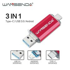 Pendrive 3.0 16gb 32gb 64gb 128gb 256gb pendrive movil android y tipo C usb 3.0