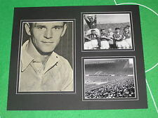 Vintage Bill Leivers Signed Manchester City FC Mount