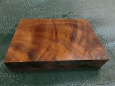WB-CURLY!!! WALNUT BURL DELUXE  KNIFE BLOCK/SCALES/ CALLS/ PEN BLANKS--W--A--4