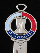 PLYMOUTH SPACE-AGE CREST KEY 1956-1967 MINT Vintage Fury Satellite GTX Belvedere