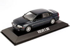 1:43 VOLVO s80 tipo TS Blu Scuro Blu Blue-Dealer-Edition OEM-Minichamps