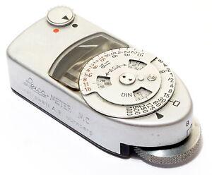 Leica Meter MC - Working - Chrome - Nice condition.