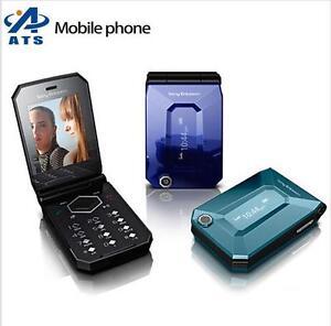 Original Sony Ericsson Jalou F100 3G Flip Cellphone FM Radio MP3 Mobile Phone