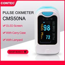 CONTEC CMS50Na OLED Finger Pulse Oximeter Blood Oxygen SPO2 PR Oximetry