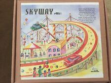Welby SKYWAY FAIR RIDE TIN Litho TOY 1945 Achterbahen 104 Roller Coaster Copy