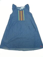 Roxy Girl 10 A La Noche Dress Blue Sleeveless