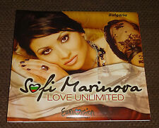 Eurovision Song contest 2012 Bulgaria Sofi Marinova Love Unlimited DVD single
