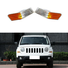 for Jeep Patriot 2011-2015 Auto Cornering Lamp Corner Lamps Housing (No Bulbs)