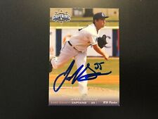 Jake Sisco In Person Signed 2013 Lake County Captains Team Set Card