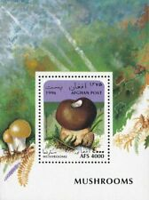 AFGHANISTAN -1996- Mushroom - Umber-Brown Puffball (Lycoperdon umbrinum) - #BL86